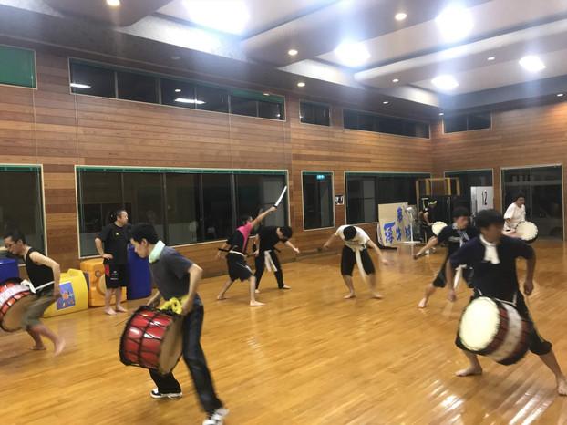 20180808鬼剣舞との合同練習