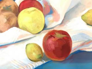 りんご、かも🍎
