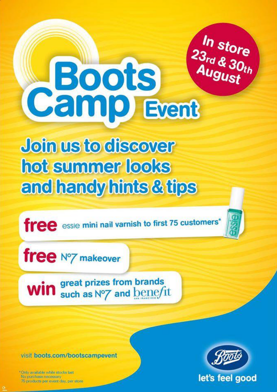 BootsCamp Event