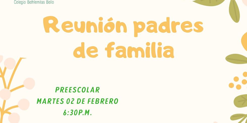 Reunión Padres de familia