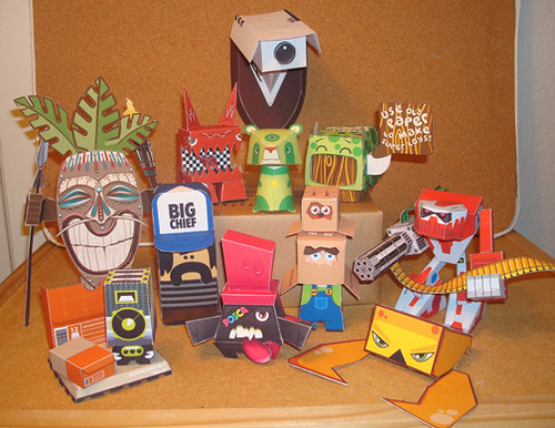 The Urban Paper Toy: A Brief Overview and History.