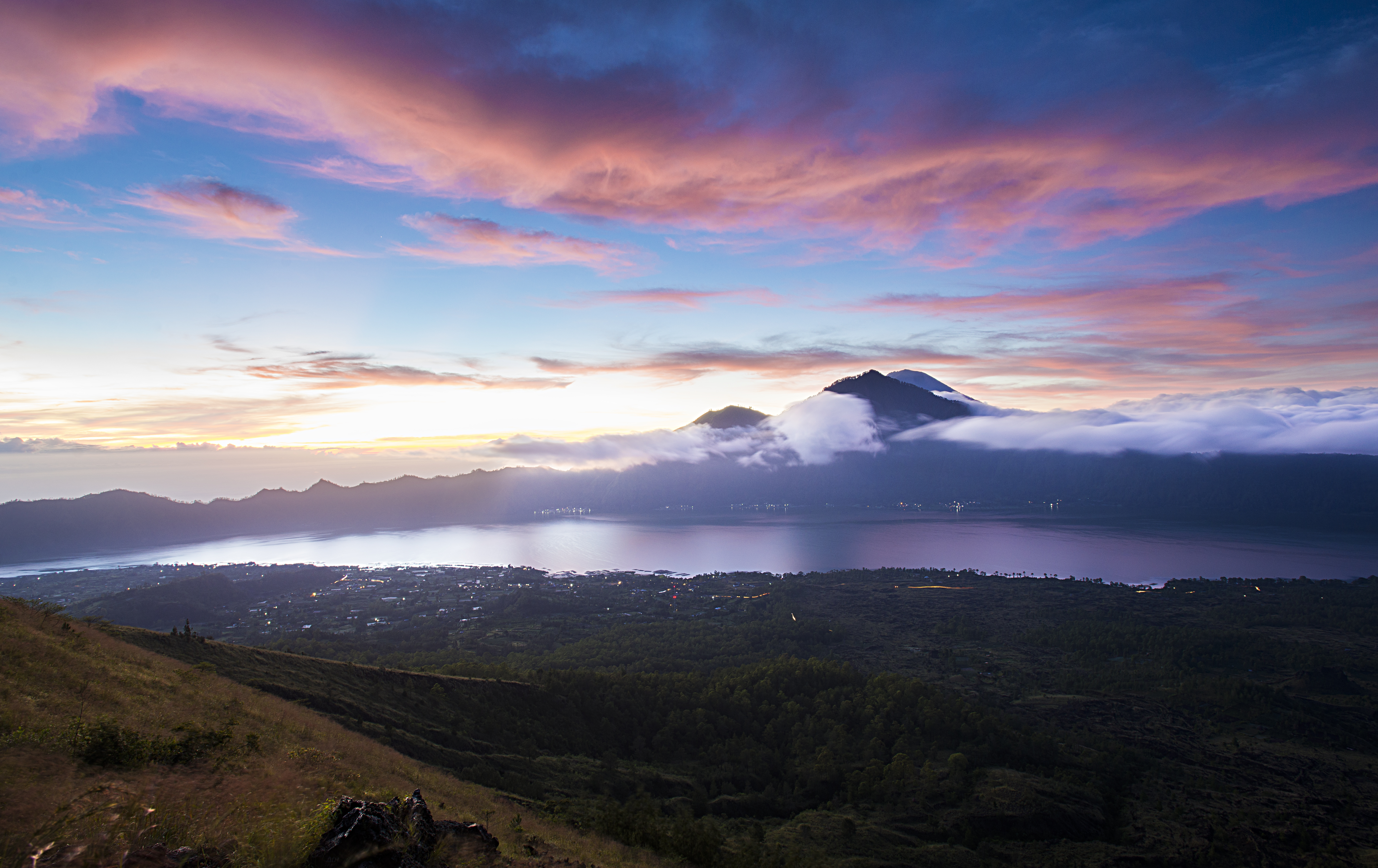 Sunrise Over Mt. Batur