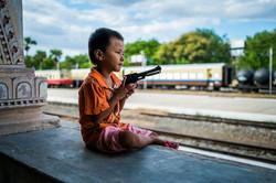 Bagan train station