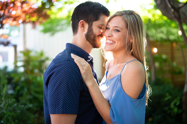Downtown Louisville Engagement Session