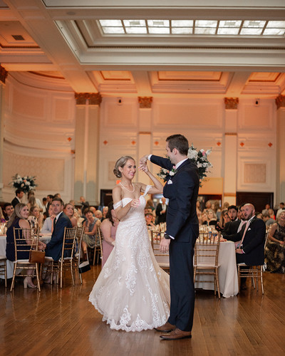 First Dance at the Henry Clay Louisville, Ky 2019  © Stef Elizabeth Photo - Wedding Photographer Serving Louisville, Lexington and Cincinnati