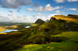 Sunset Over the Quiraing