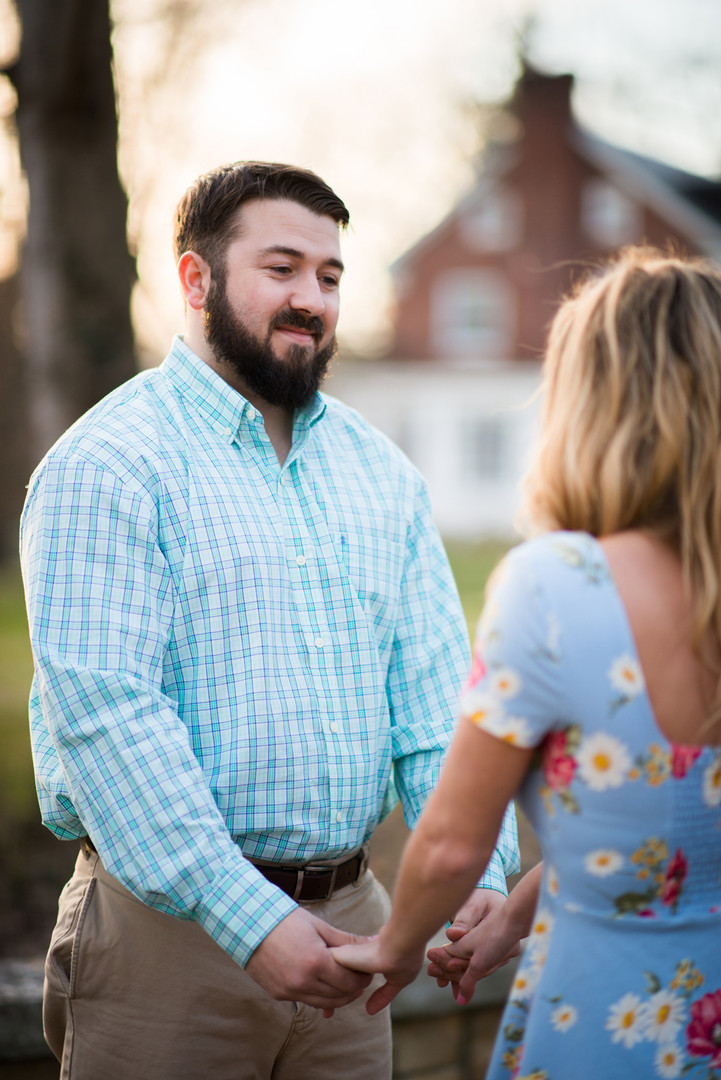 Cherokee Park Engagement Session