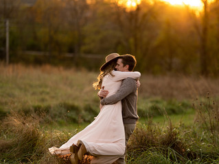 Chelsea and Jordon's Enchanting Engagement Session at Creasey Mahan Nature Preserve in Goshen, KY