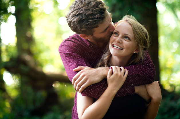 Falls of the Ohio Engagement Session