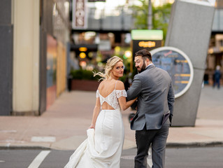 Natalie + Alex's Classic Autumn Wedding at St. Boniface Cathedral and the Seelbach Hotel