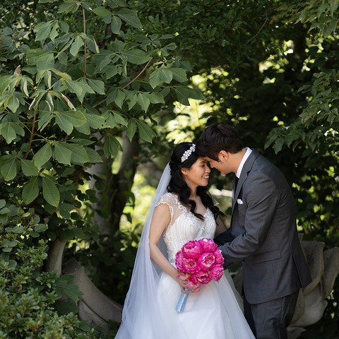 Yew Dell Botanical Garden Wedding