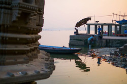 Sunrise at the Ghats