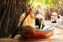 Mekong Delta Rowers