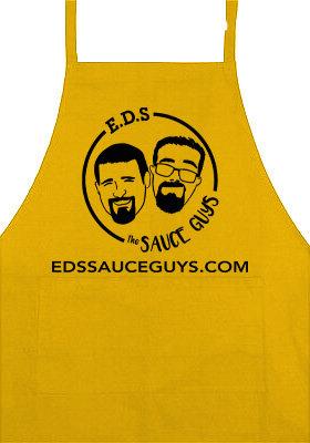 Gold Sauce Guys Apron