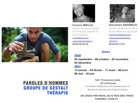 Groupe d'hommes