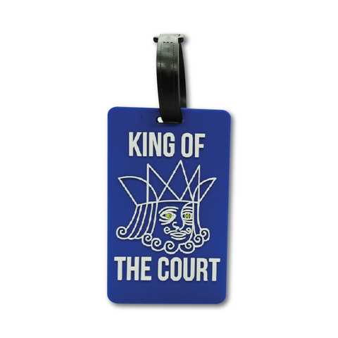 Tennis Bag tag - King of the Court