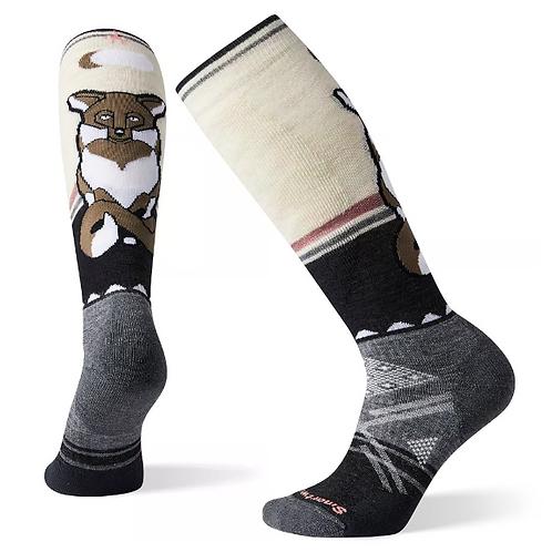 Smart Wool Women's PhD® Ski Medium Fox Pattern Socks