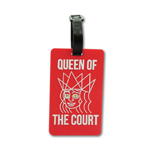 Tennis Bag tag - Queen of the Court