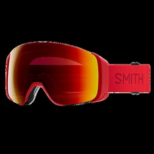 Smith 4D Mag Goggles ChromaPop Sun Red Mirror