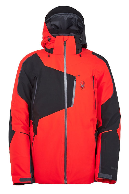 Men's Spyder Leader GTX Jacket in Volcano