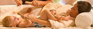 Massage duo Maman - Bébé