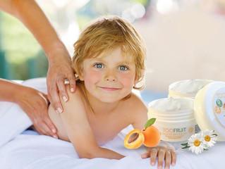 Les massages pour enfants