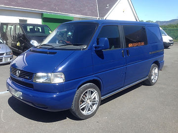 Colour Coded VW Volkswagen T4