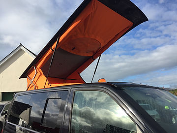 Lime Vehicles  HiLo Skyline Pop Top Roofs Fitting Installing VW Volkswagen T5 T6
