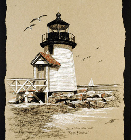 Brant Point Lighthouse - Nantucket, Mass.