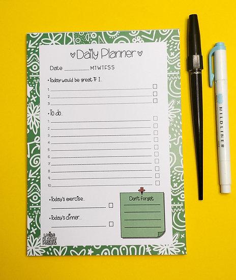 A5 Doodles Planner