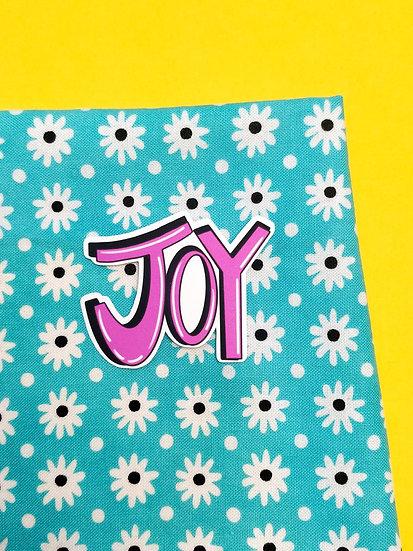 Joy Die Cut Vinyl Sticker