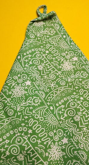 Doodles Tea Towel