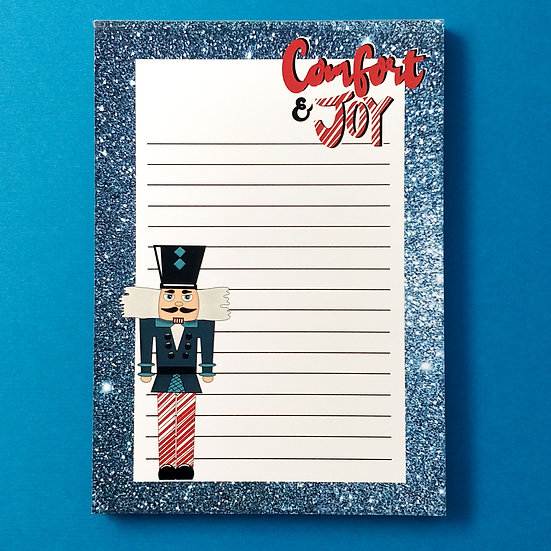 Comfort and Joy A6 Notepad