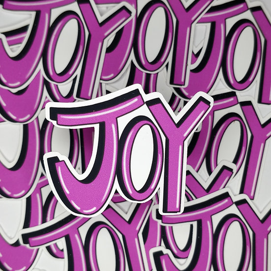Joy Sticker