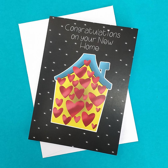 Congratulations on your New Home Greeting Card