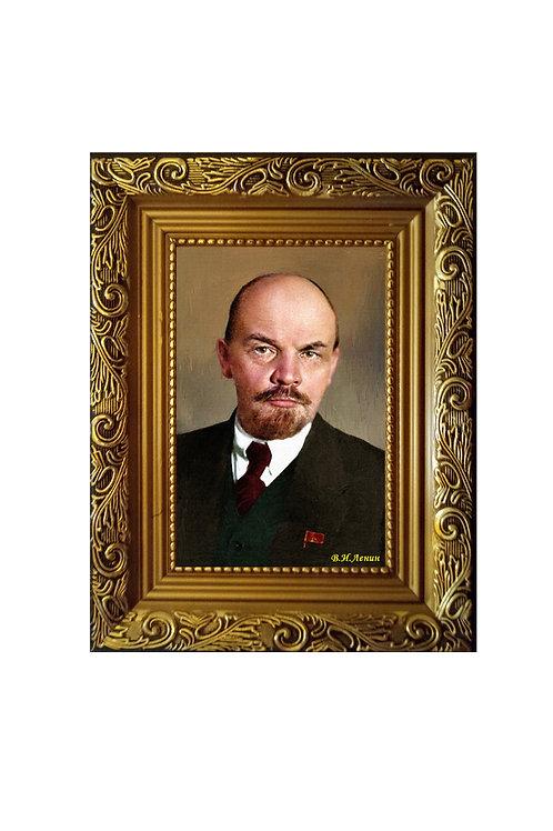 "Сувенир ""Портрет на холсте Ленин В.И"""