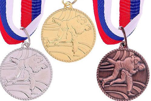 Медаль Каратэ 119 Размер 3.5 см.