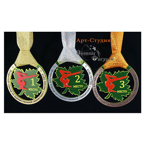 """Медаль """"Осень"""", акрил"""
