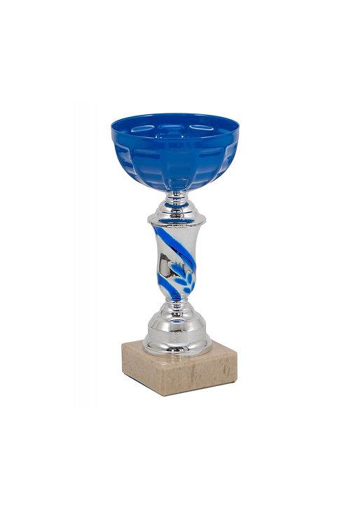 Кубок 016, синий, 17 см