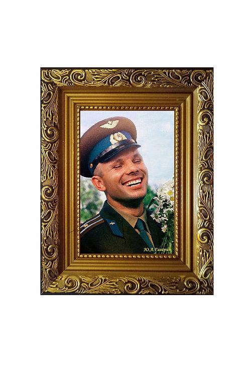 "Сувенир ""Портрет на холсте Гагарин Ю.А"""