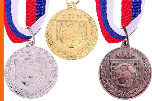 Медаль Футбол 116 Размер 3.5 см.