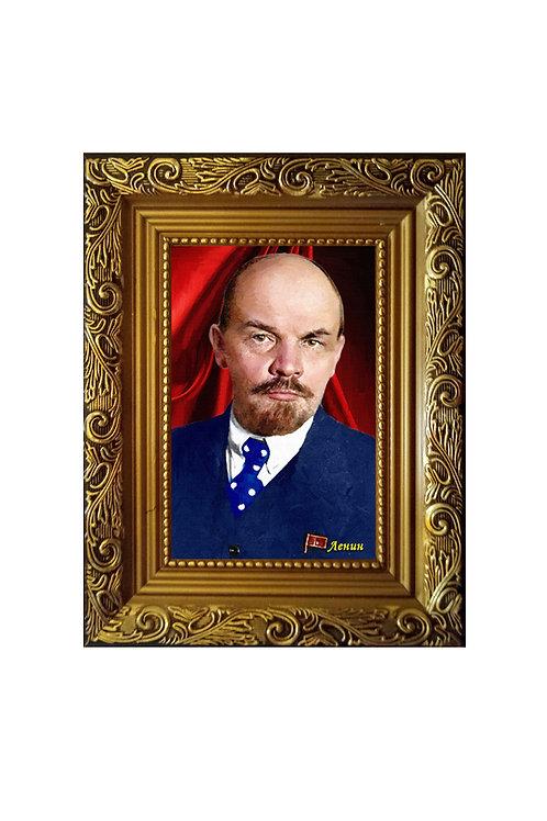 "Сувенир ""Портрет на холсте Ленин В.И."""