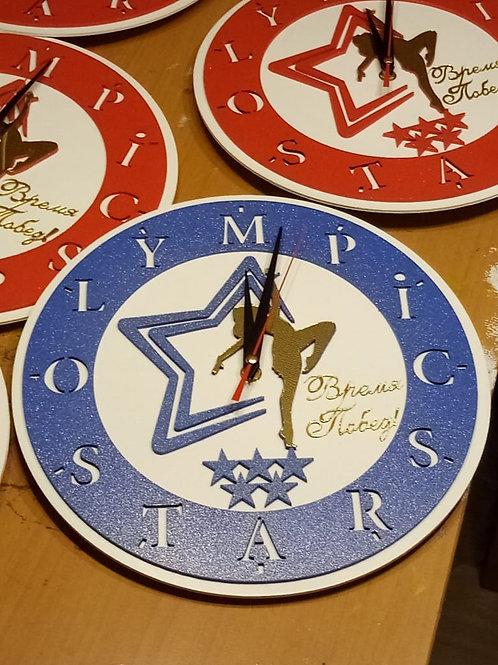 Часы настенные с вашим логотипом, диаметр 29 см