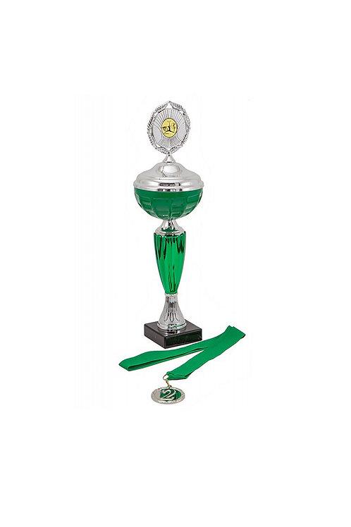 Кубок 021к зелёный, 35 см