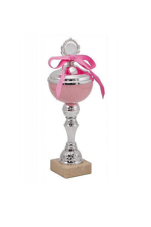 Кубок 062к розовый, 24 см