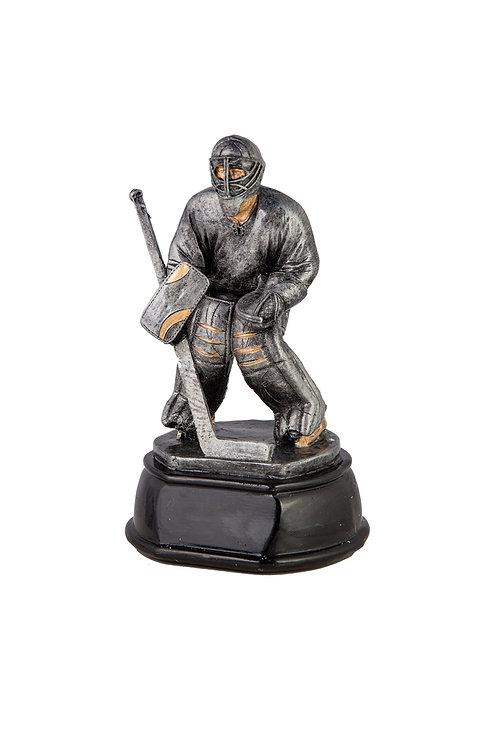 """Фигура литая """"Вратарь Хоккей"""" 20 см"""