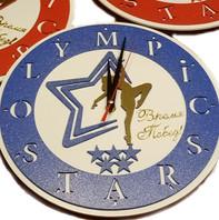 Часы с логотипом для художественной гимнастики