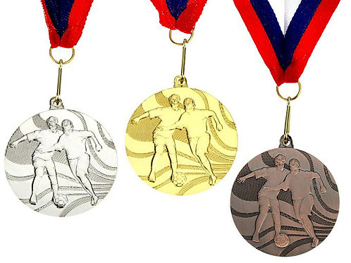 Медаль Футбол С01 Диаметр 5 см.