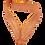 """Thumbnail: Медаль 102 """"3 место"""", цвет бронзы, d-70мм, с лентой"""