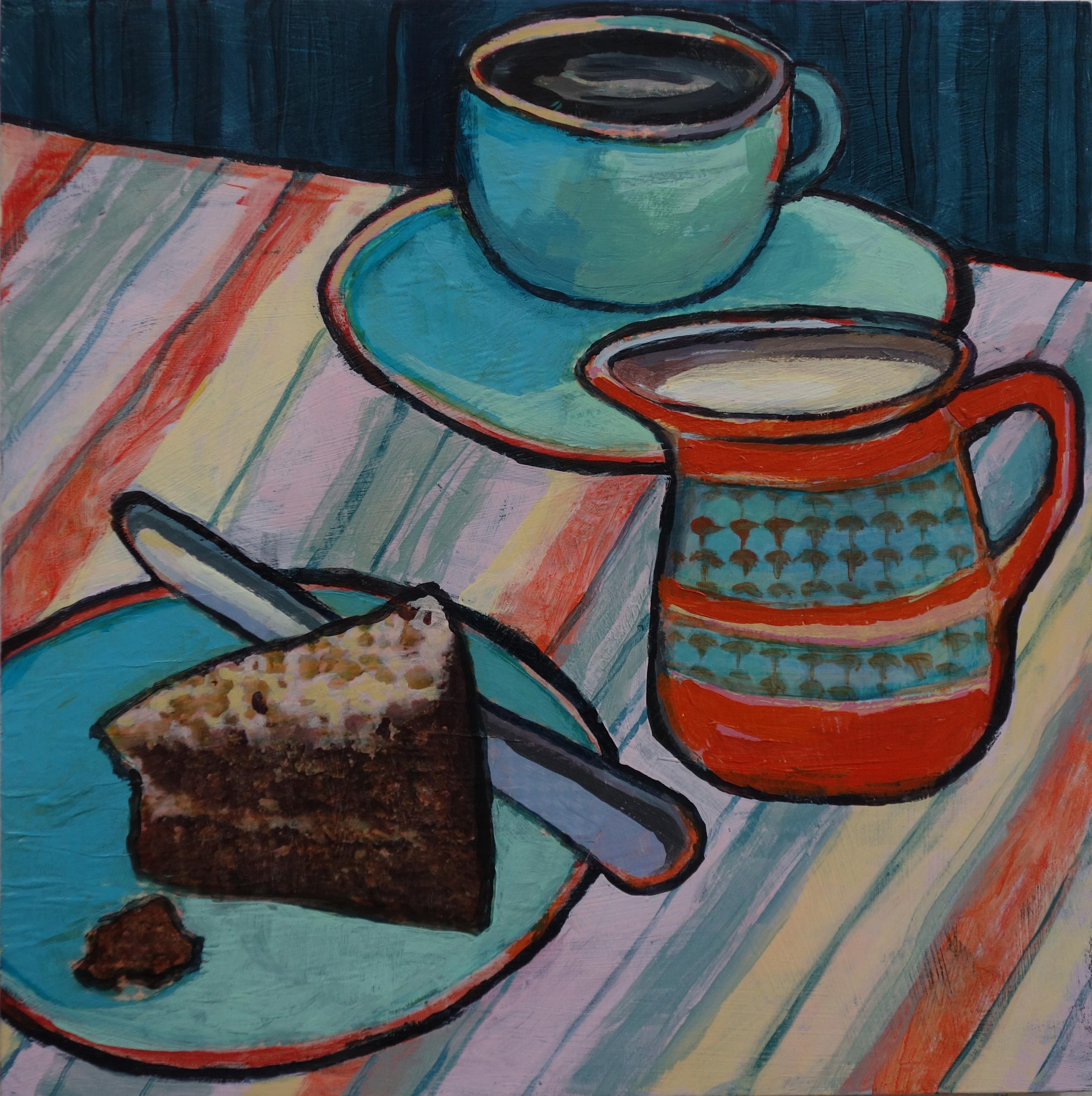 Still Life Carrot Cake (SOLD)
